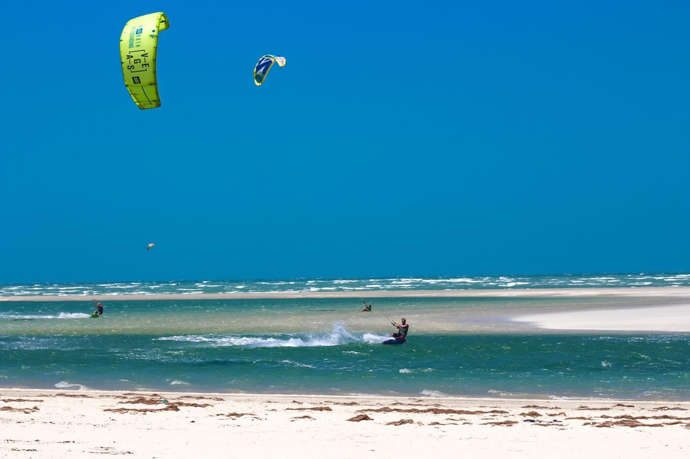 Brazil kitesurfing spots