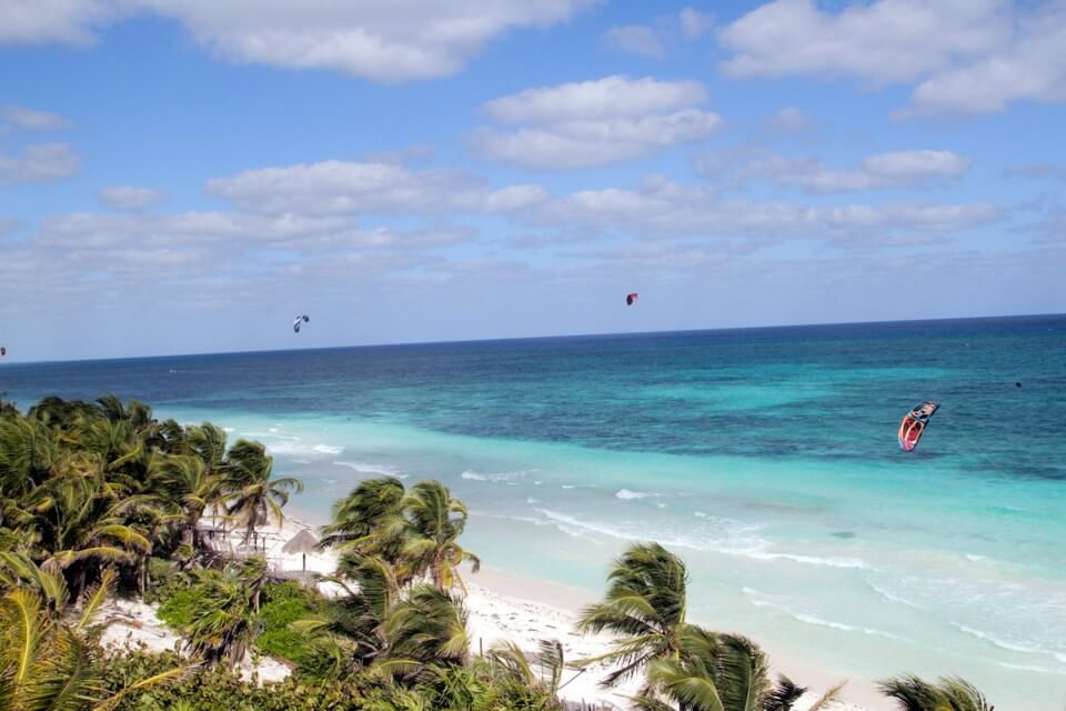 best kiteboarding spots mexico