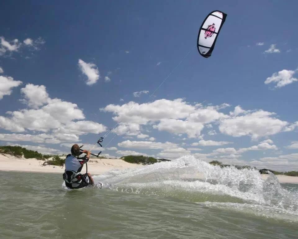 kiteboarding in brazil spots