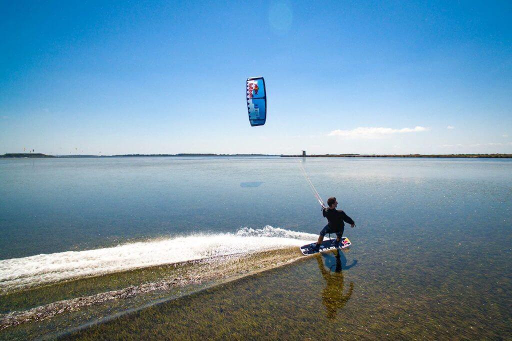 Kiteboarding in Sicily, Italy