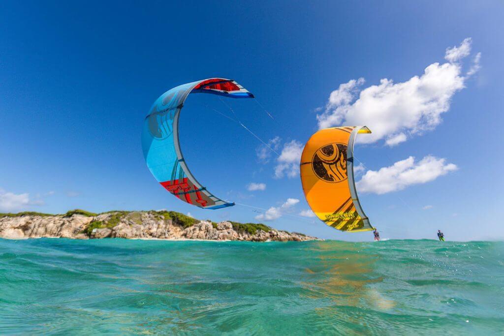 kitesurfing schools in the caribbean