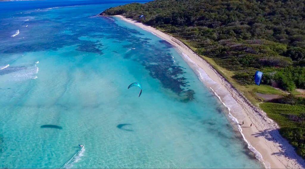 kitesurfing the caribbean