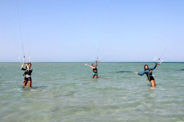 Girls Kitesurf Camp El Gouna Egypt