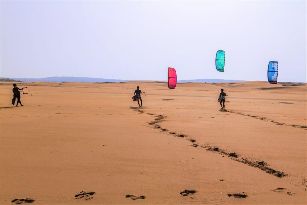 Kiteboarding Essaouira Morocco