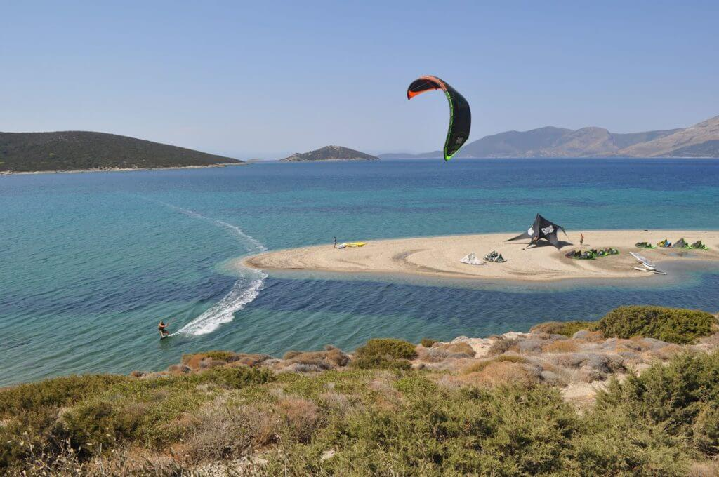 Kiteboarding Islands Greece