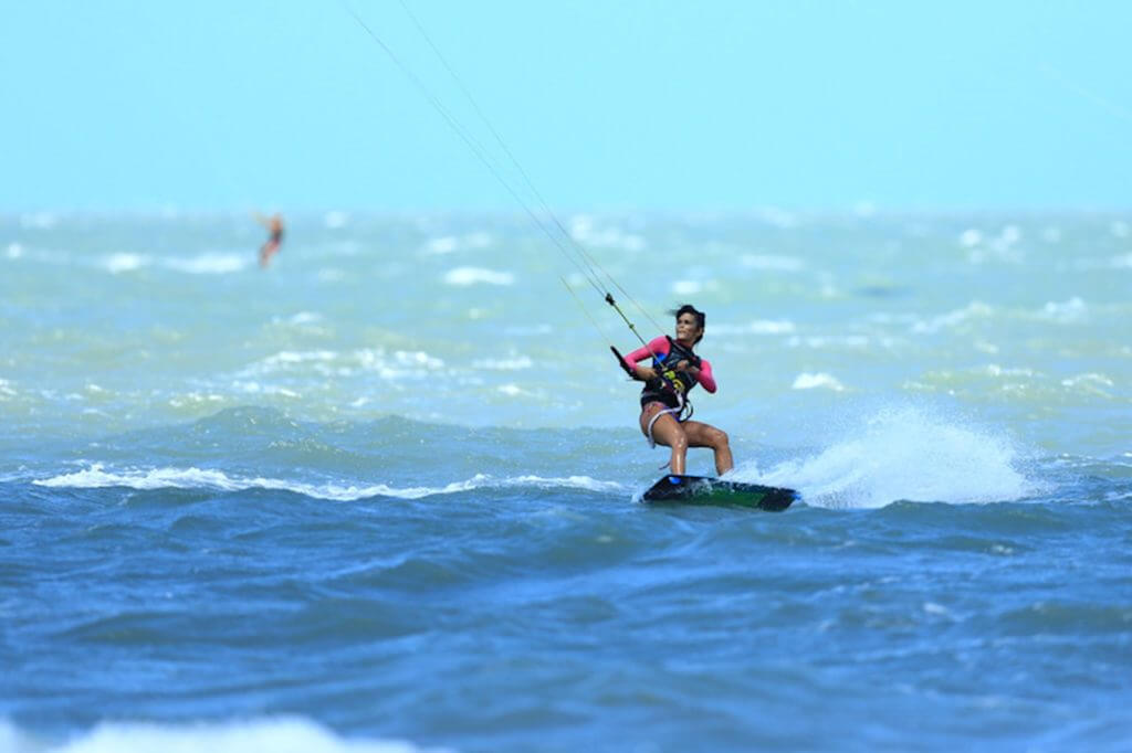 kiteboarding in brazil