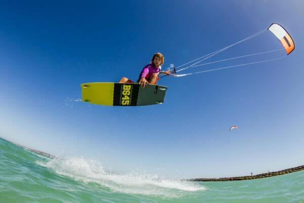Kitesurfing in Talamone