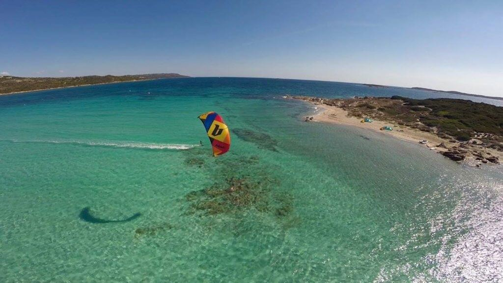 one of the best kiteboarding spots in Italy