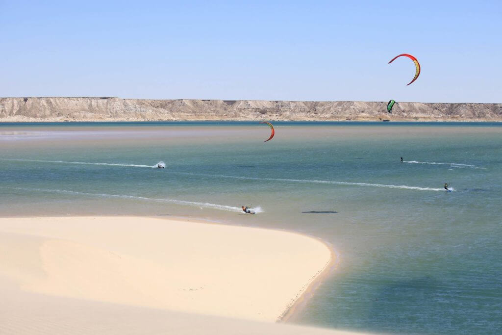 kitesurfing in Dahkla