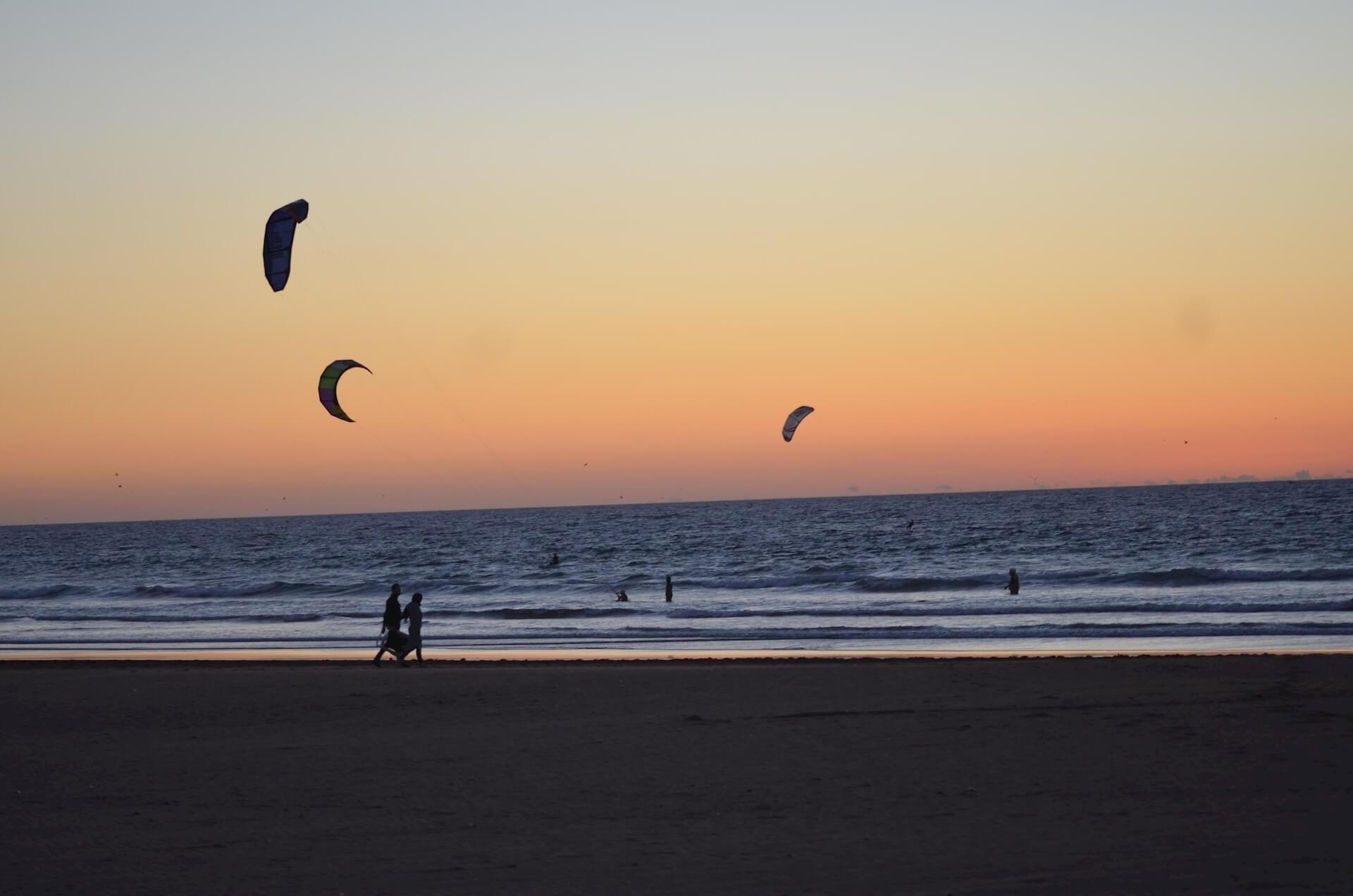kiteboarding holidays in Morocco