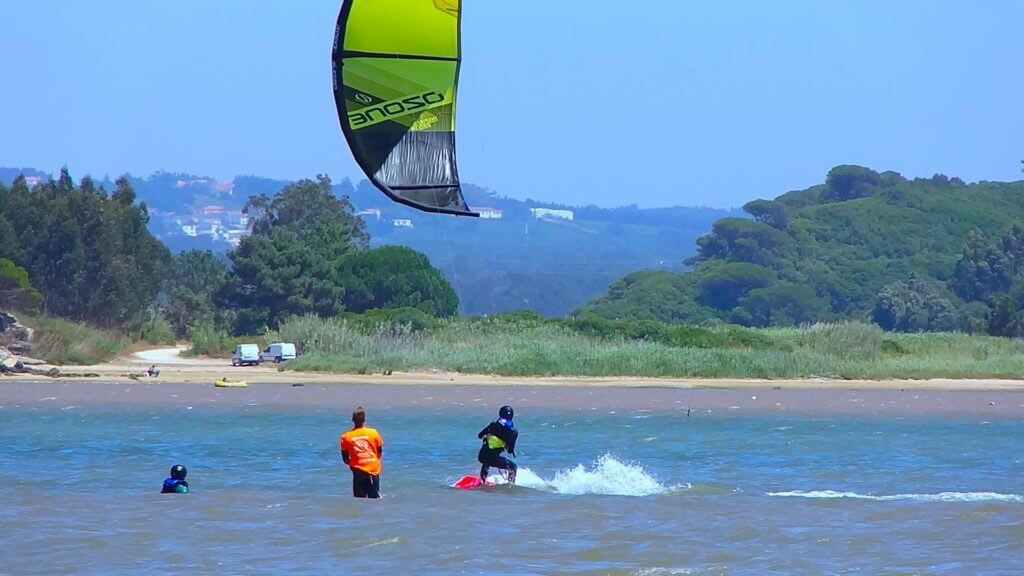 Learn to kitesurf in Portugal