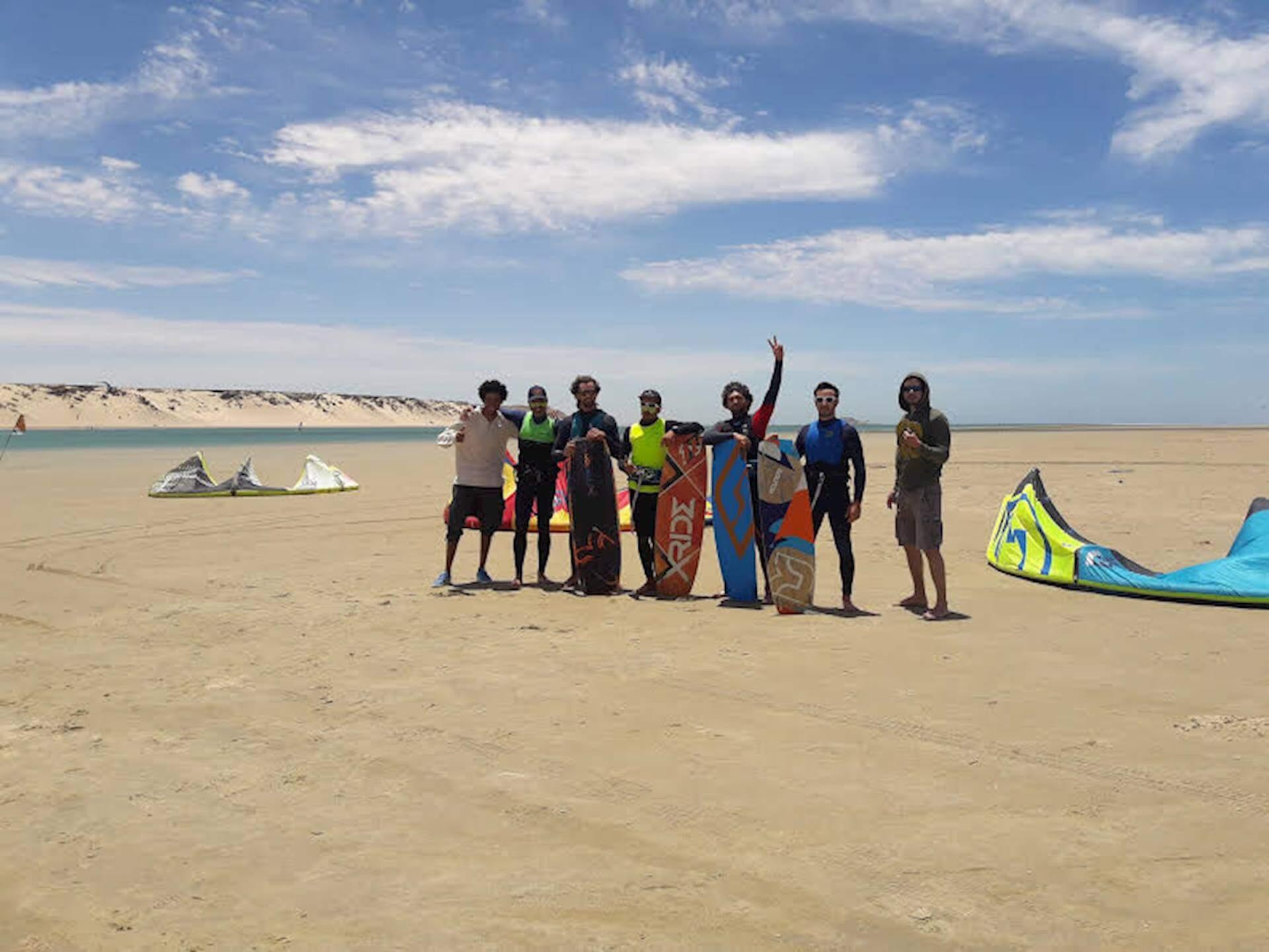 kitesurf camps in Morocco