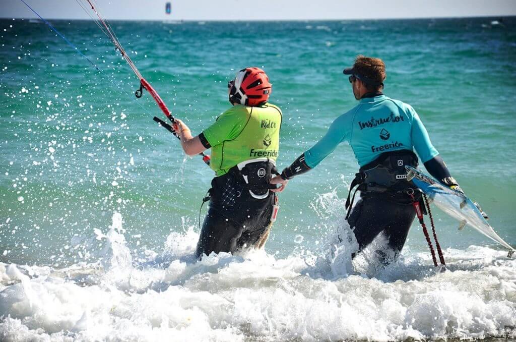 Kiteboarding lessons in Spain, Tarifa