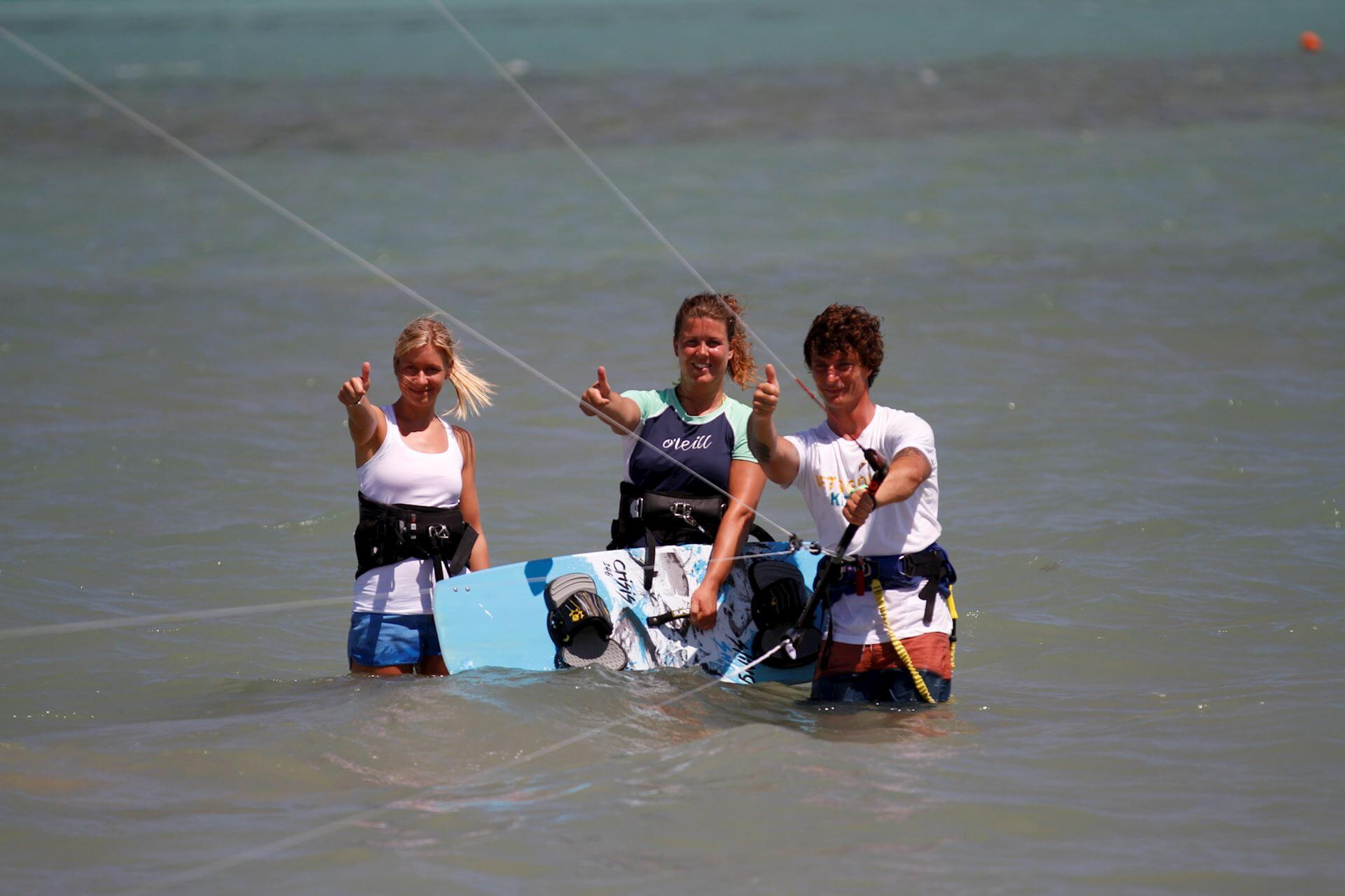 Kiteboarding camps in Egypt