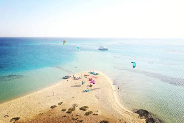 Kiteboarding holidays in Egypt