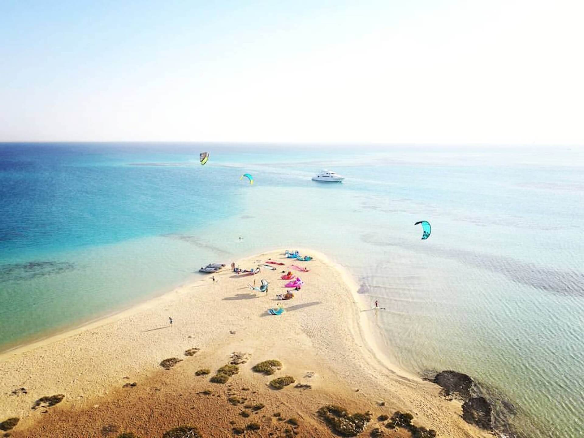 Kiteboarding holidays in Egypt