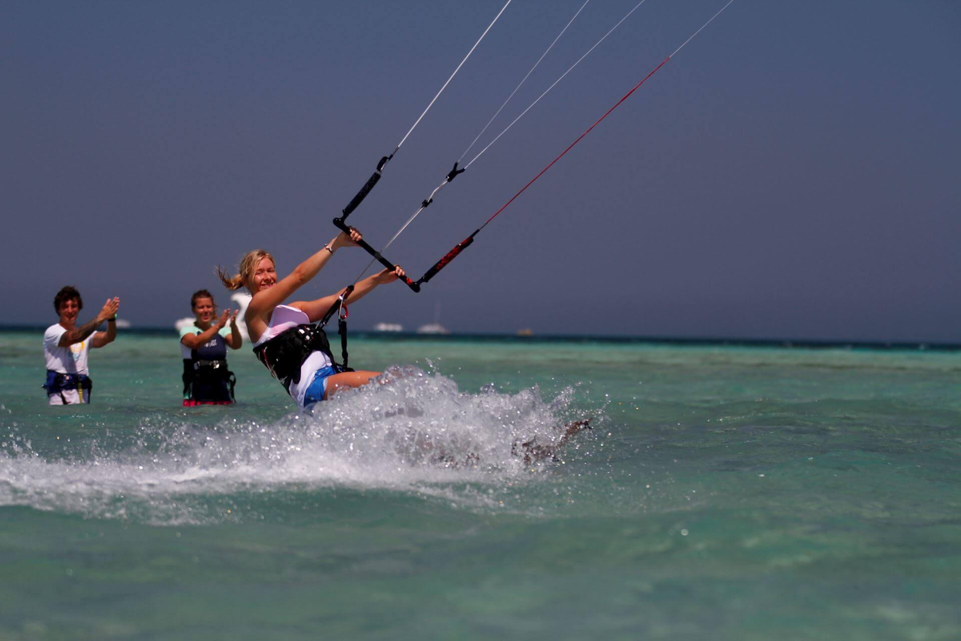 Kitesurfing lessons in El Gouda, Egypt