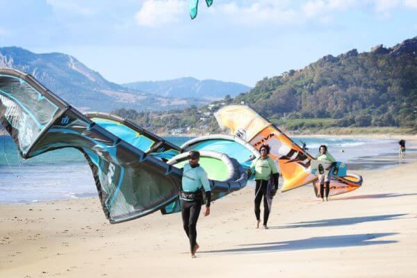 kiteboarding lessons in Tarifa