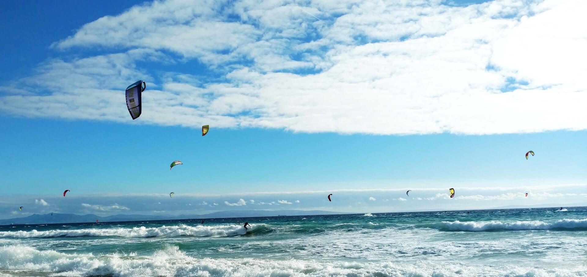 Kitesurfing season in Tarifa