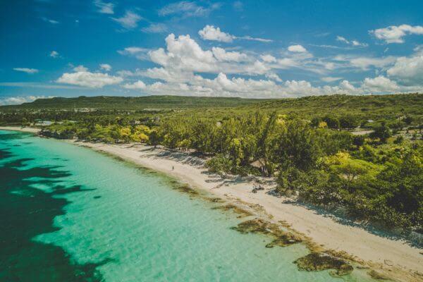 Kiteboarding in Haiti