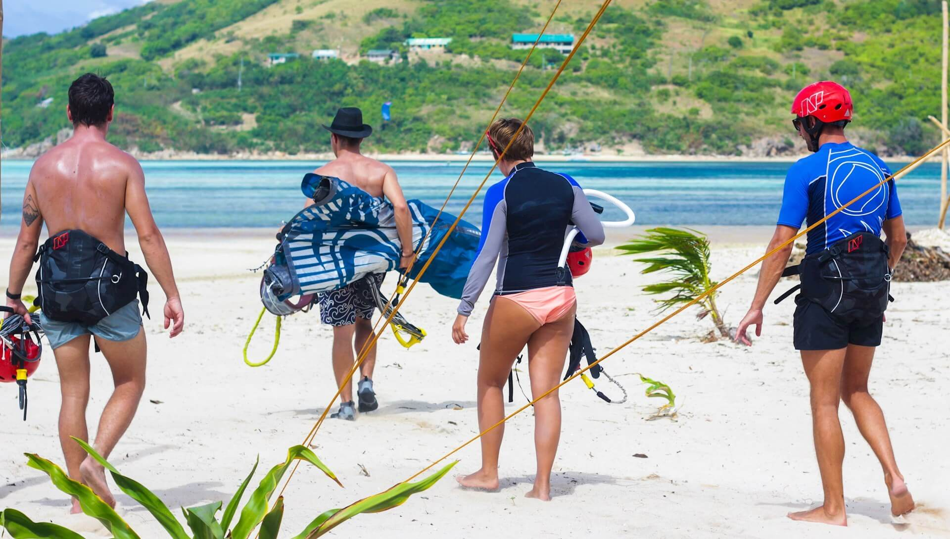 group kitesurf experience
